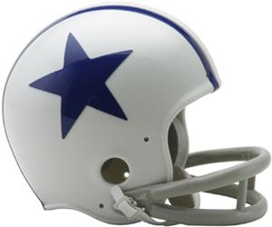 NFL Cowboys (60-63) Mini Replica Helmet -Throwback