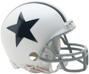 NFL Cowboys (60-63) Mini Replica Throwback Helmet