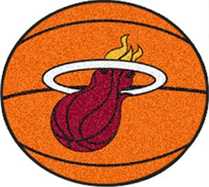 Fan Mats Miami Heat Basketball Mats