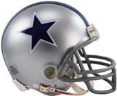 NFL Cowboys (64-66) Mini Replica Helmet -Throwback