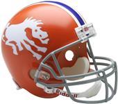 NFL Broncos (1966) Replica Full Size Helmet (TB)