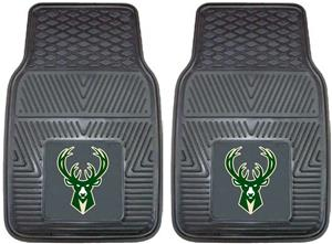 Fan Mats Milwaukee Bucks Vinyl Car Mats