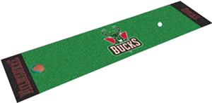 Fan Mats Milwaukee Bucks Putting Green Mats