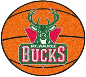 Fan Mats Milwaukee Bucks Basketball Mats