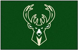 Fan Mats Milwaukee Bucks Starter Mats