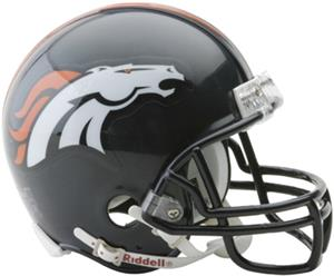 NFL Denver Broncos Mini Helmet (Replica)