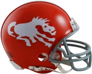 NFL Broncos (62-65) Mini Replica Helmet -Throwback