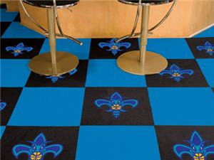 Fan Mats NBA New Orleans Hornets Carpet Tiles