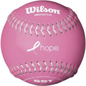 Wilson HOPE Pink Fastpitch Softballs (3 Dozen)