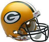 NFL Packers On-Field Full Size Helmet (VSR4)