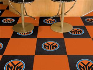 Fan Mats NBA New York Knicks Carpet Tiles