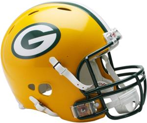 NFL Packers On-Field Full Size Helmet (Revolution)