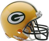 NFL Green Bay Packers Mini Helmet (Replica)