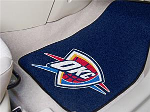 Fan Mats Oklahoma City Thunder Carpet Car Mats