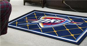 Fan Mats Oklahoma City Thunder 5' x 8' Rugs