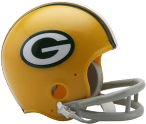 NFL Packers (61-79) Mini Replica Helmet -Throwback