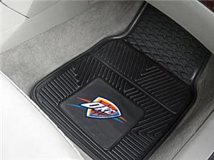 Fan Mats Oklahoma City Thunder Vinyl Car Mats
