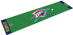 Fan Mats Oklahoma City Thunder Putting Green Mats