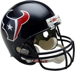 NFL Texans Deluxe Replica Full Size Helmet