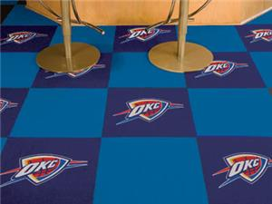 Fan Mats NBA Oklahoma City Thunder Carpet Tiles