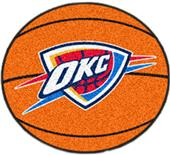 Fan Mats Oklahoma City Thunder Basketball Mats
