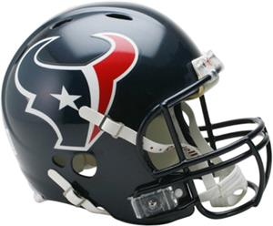 NFL Texans On-Field Full Size Helmet (Revolution)
