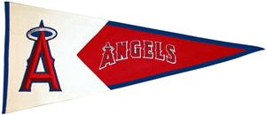 Winning Streak MLB Anaheim Angels Classic Pennant