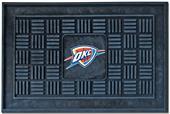 Fan Mats Oklahoma City Thunder Door Mats