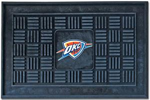 Fan Mats Oklahoma City Thunder Door Mats