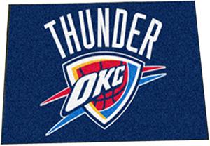 Fan Mats Oklahoma City Thunder Starter Mats