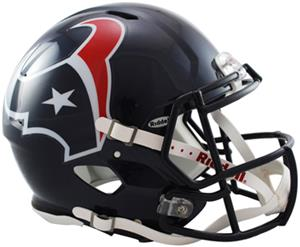 NFL Texans On-Field Full Size Helmet (Speed)