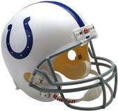 NFL Colts Deluxe Replica Full Size Helmet
