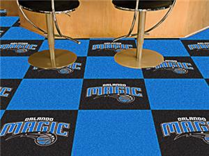 Fan Mats NBA Orlando Magic Carpet Tiles