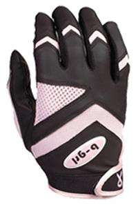 B-Girl Survivor Youth Softball Batting Gloves-Pink