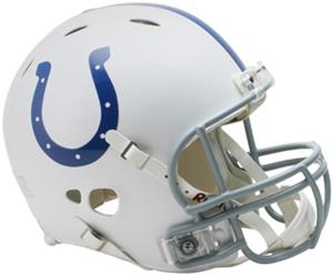 NFL Colts On-Field Full Size Helmet (Revolution)