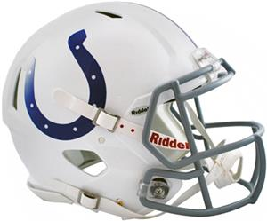 NFL Indianapolis On-Field Full Size Helmet (Speed)
