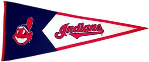 Winning Streak Cleveland Indians Classic Pennant