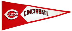 Winning Streak MLB Cincinnati Reds Classic Pennant