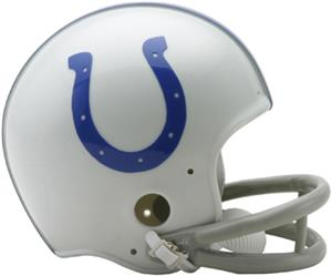 NFL Colts (58-77) Mini Replica Helmet -Throwback