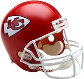 NFL Chiefs Deluxe Replica Full Size Helmet