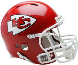 NFL Chiefs On-Field Full Size Helmet (Revolution)
