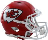 NFL Chiefs On-Field Full Size Helmet (Speed)
