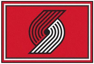 Fan Mats NBA Portland Trail Blazers 5'x8' Rugs
