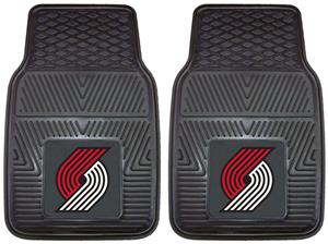 Fan Mats Portland Trail Blazers Vinyl Car Mats
