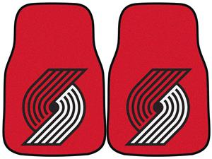 Fan Mats Portland Trail Blazers Carpet Car Mats