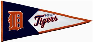 Winning Streak MLB Detroit Tigers Classic Pennant