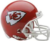 NFL Kansas City Chiefs Mini Helmet (Replica)