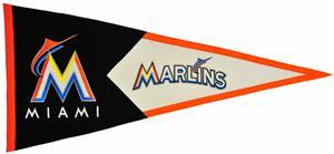 Winning Streak MLB Miami Marlins Classic Pennant