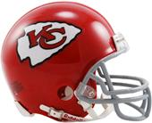 NFL Chiefs (63-73) Mini Replica Helmet -Throwback