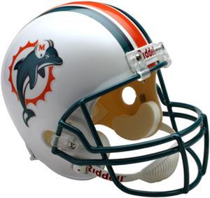 NFL Miami Dolphins Deluxe Replica Full Size Helmet